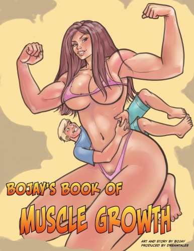 Bojay is a master at making women look strong and sexy in Bojay's Muscle Growth Comics.