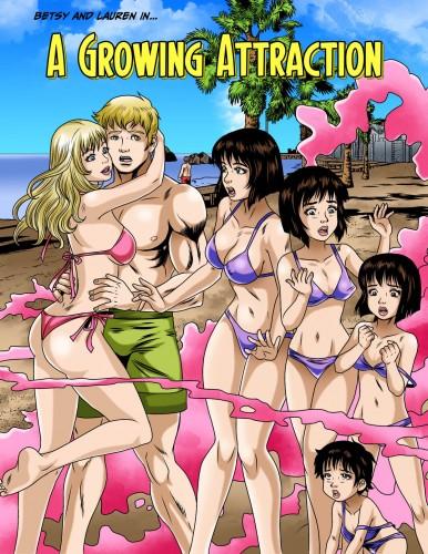 Lauren's pheromones regress her older sister Betsy in A Growing Attraction.