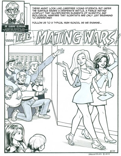Carol and Gail regress to little girls in Mating Wars, an age regression comic by Bojay and DreamTales.
