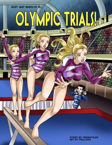 Suzy finds that getting sexy is a liability for a gymnast in Olympic Trials!