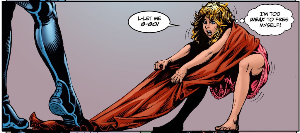Some of the amazing Steve Blevins artwork in Super Suzy.